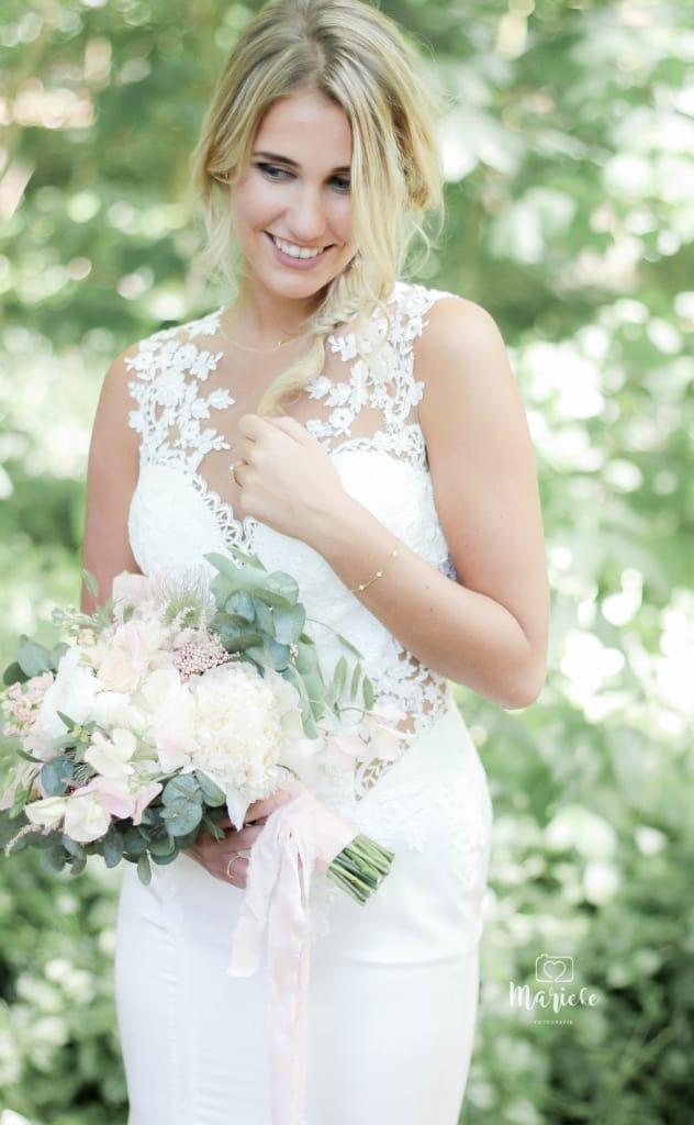 Bruidsfoto bruidsjurk