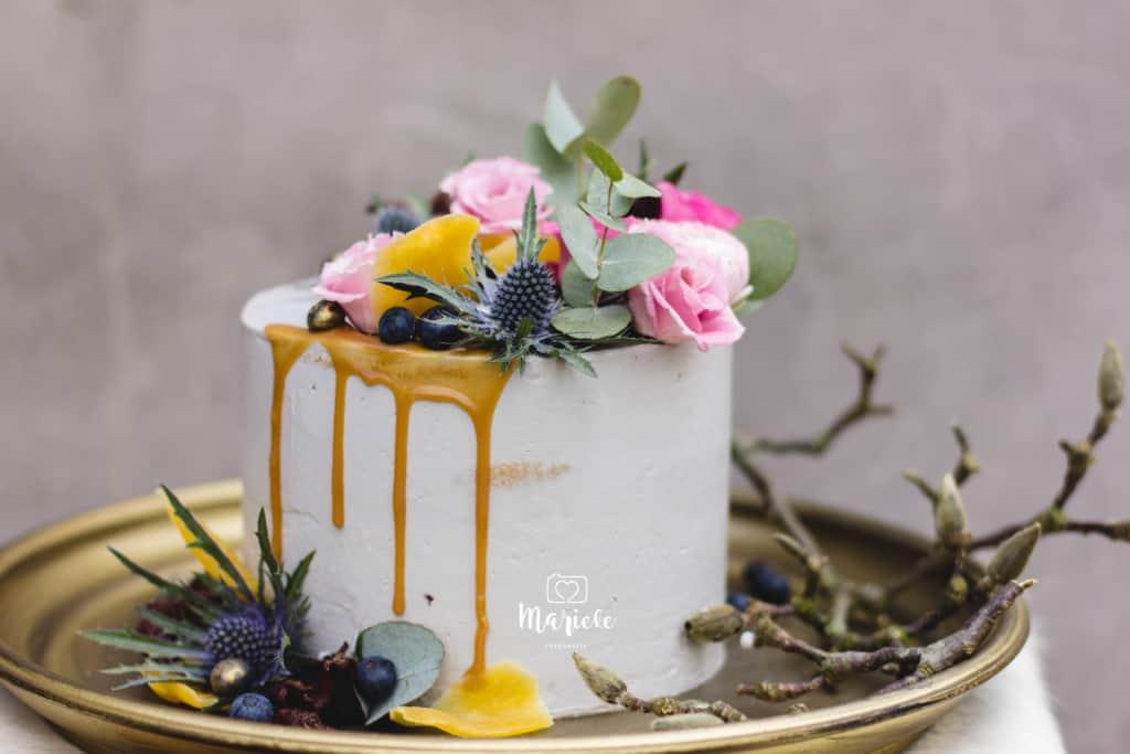 bruidsfotografie taart