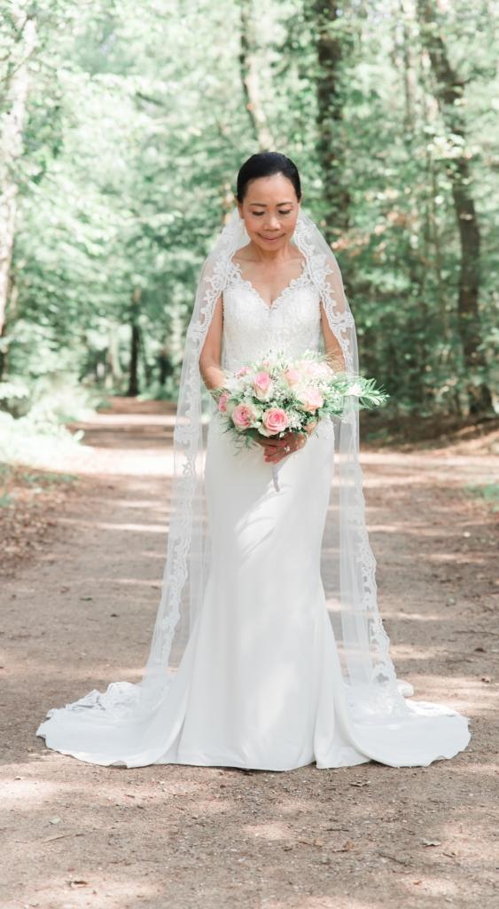 Bruiloftshoot de bruid