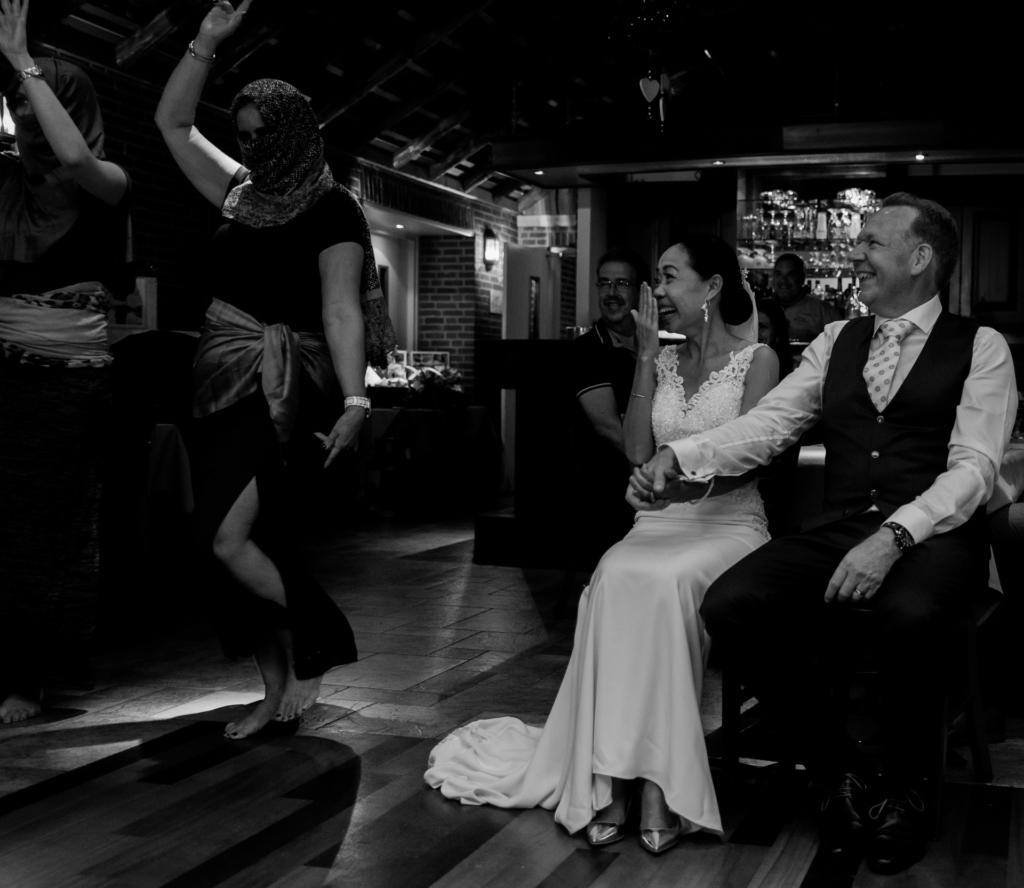 Bruiloftshoot optreden