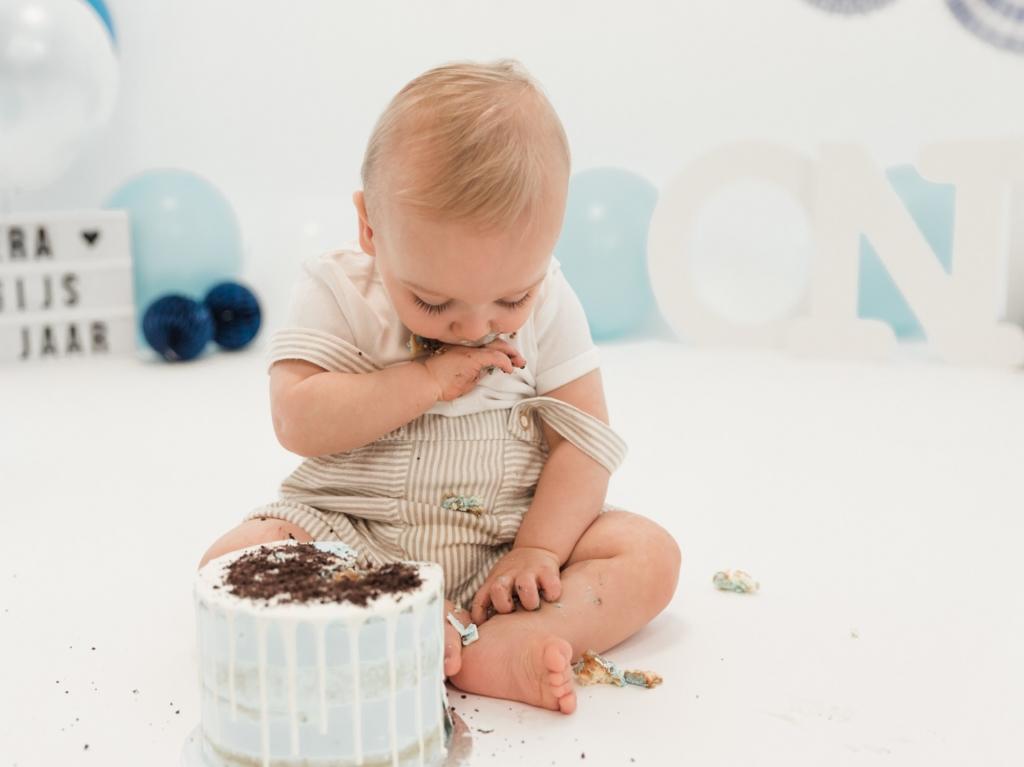 Cake smash foto Gijs