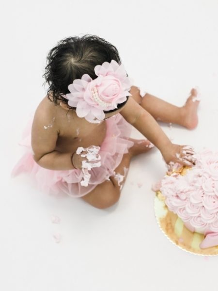 Cake smash fotografie Indira
