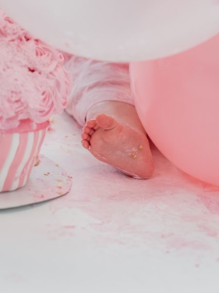 Cake smash fotoshoot fleur 1 jaar
