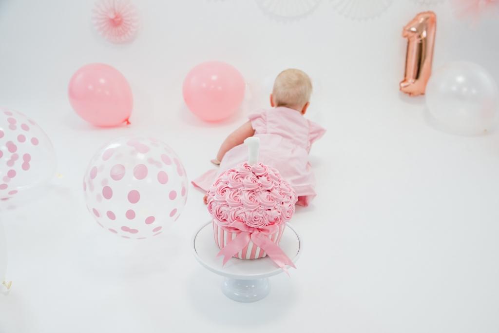 Cake smash shoot Fleur 1 jaar