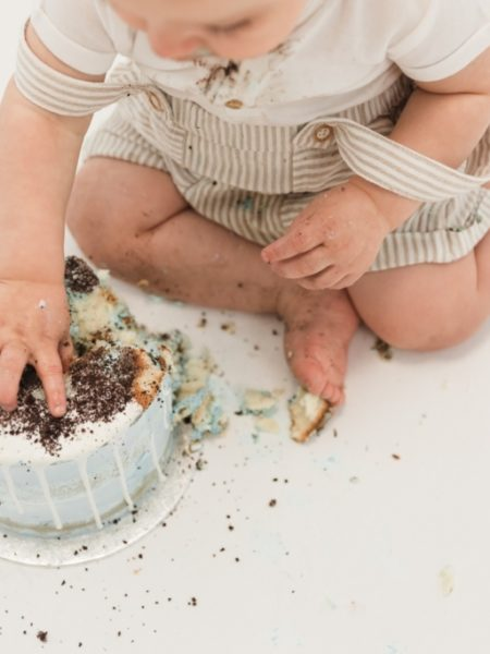Cake smash shoot Gijs