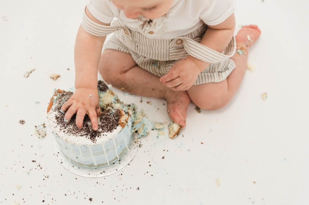 Cake smash shoot Gijs