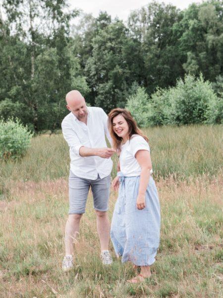 Familiefoto man samen met vrouw