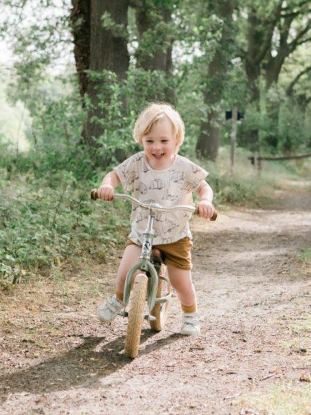 Familieshoot op de fiets