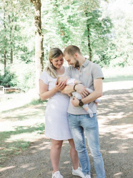 Newborn foto gezin