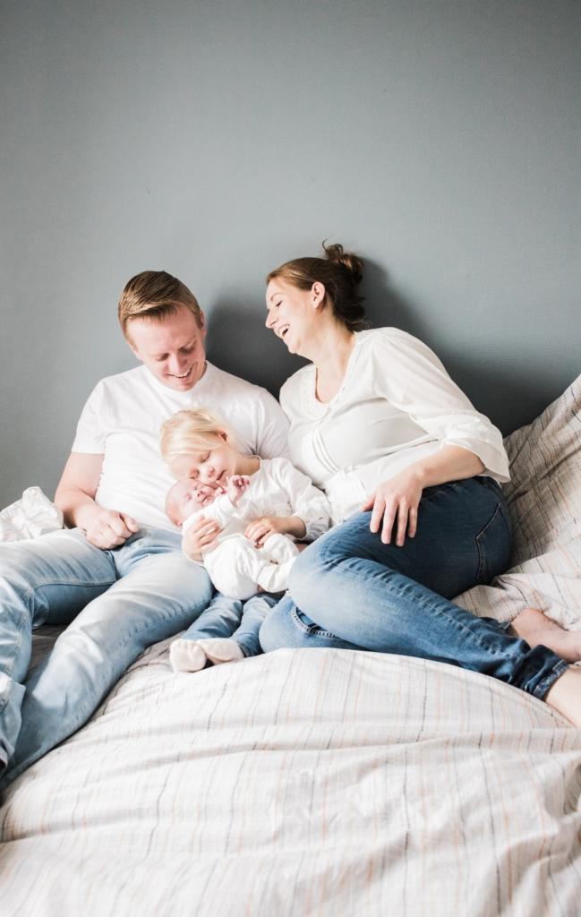 newborn foto's