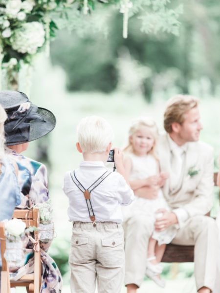 Bruidsshoot op locatie