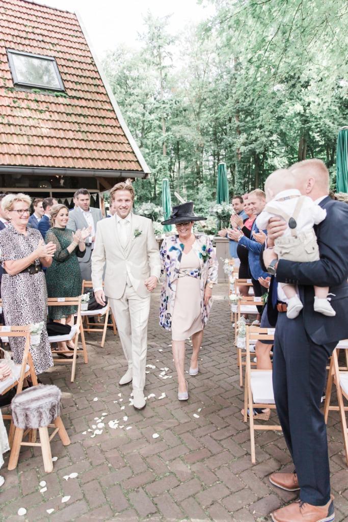 Bruiloft fotoshoot
