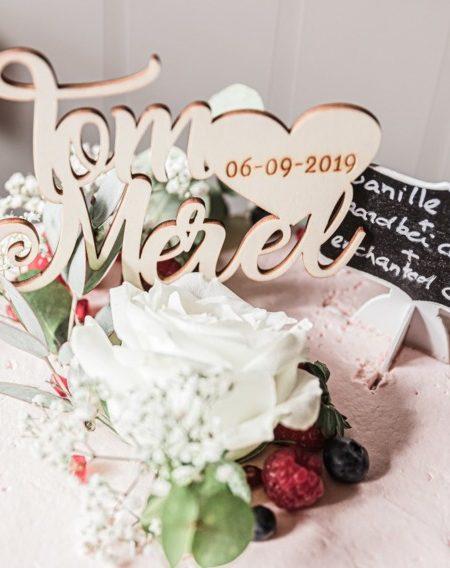 Bruiloft vieren met fotograaf