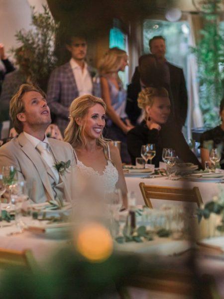 Diner trouwdag