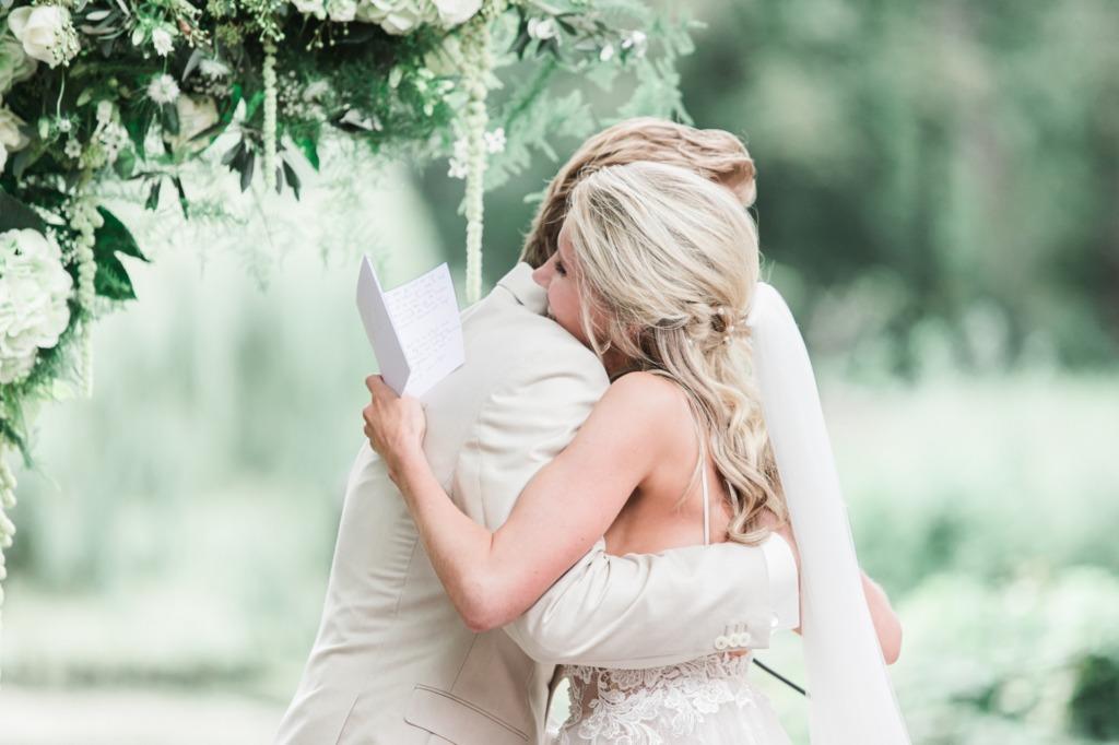 Fotograaf op trouwlocatie