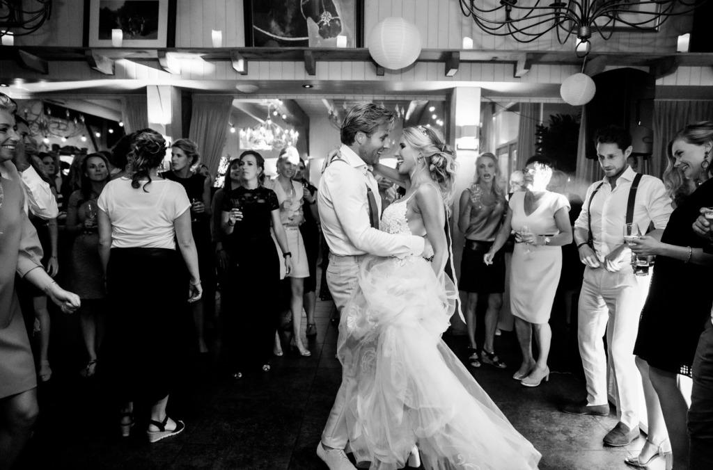 Fotografie trouwfeest