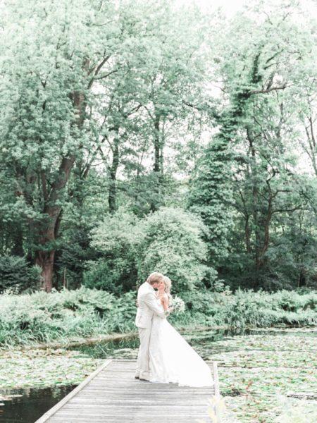 Fotoshoot bruiloft op locatie