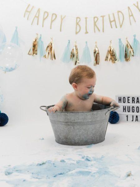 Fotoshoot jongen 1 jaar