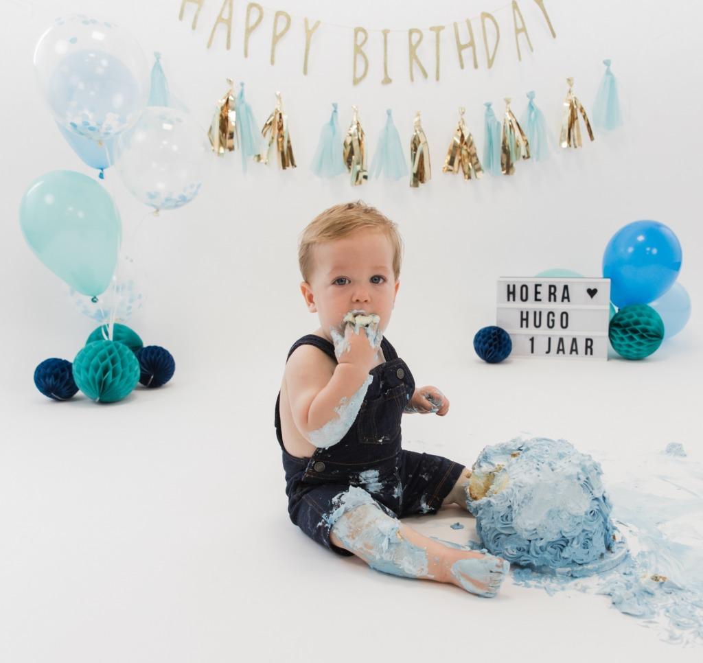 Smash cake Hugo
