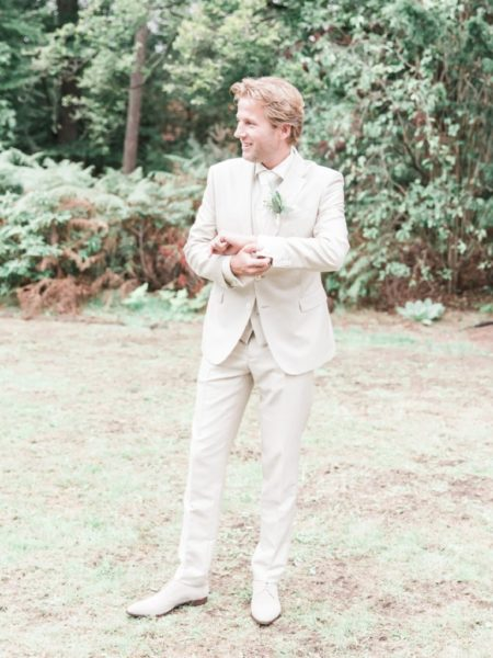 Trouwshoot Bruidegom